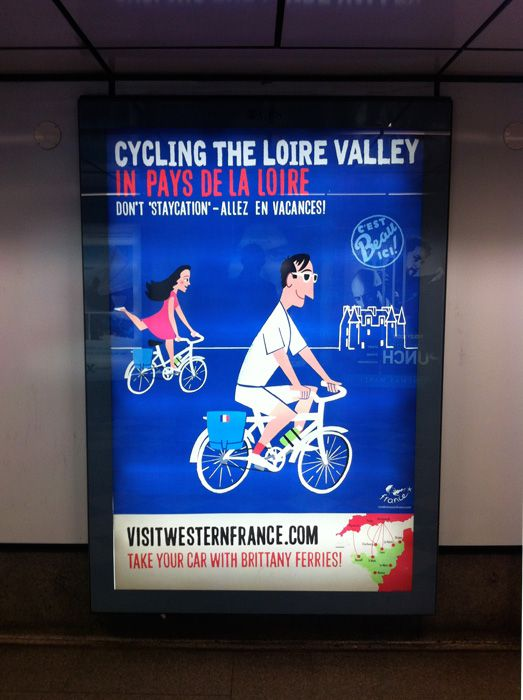 Cycling The Loire Valley. Holborn Station.