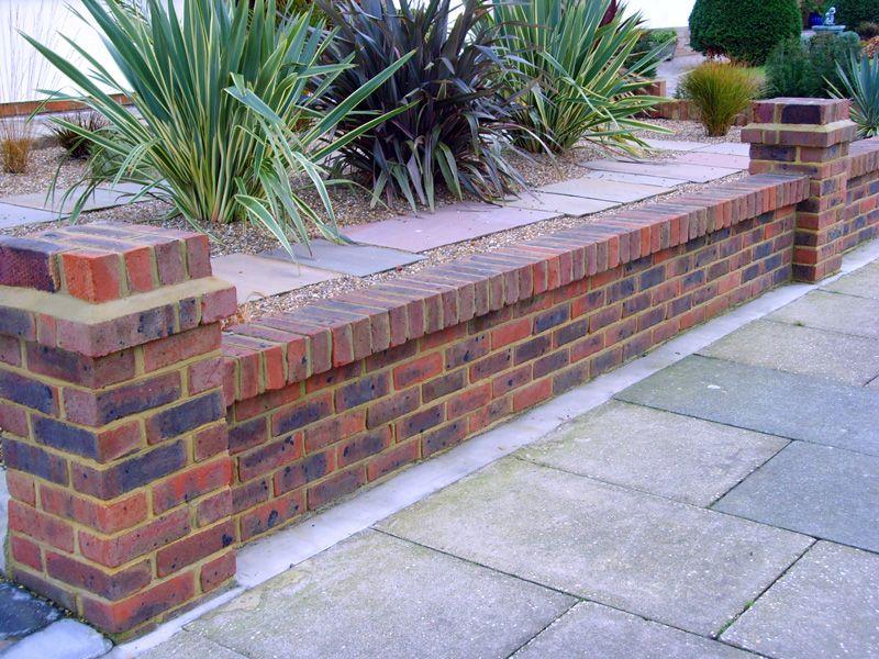 Driveway & Brickwork | Brick retaining walls | Pinterest ...