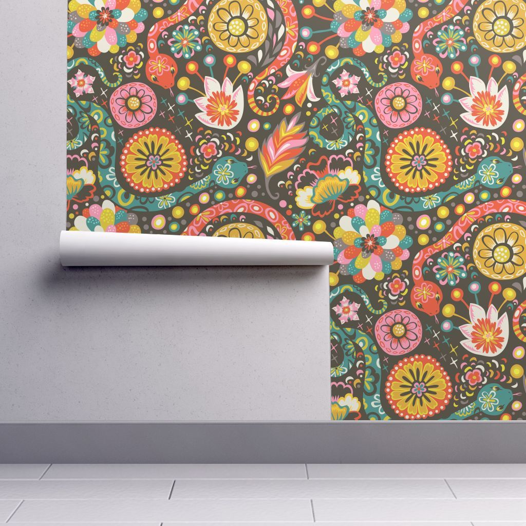 Isobar Durable Wallpaper featuring Year of the Snake by