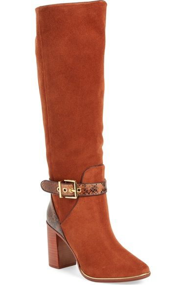 aafb93df9 Ted Baker London  Niida  Knee High Ankle Strap Boot (Women) available at   Nordstrom