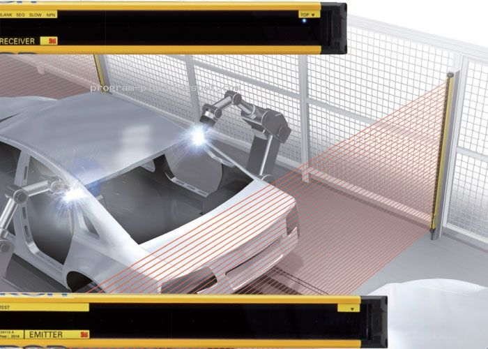 Use Omron Safety Sensor F3sg R Safety Light Curtain For Harsh