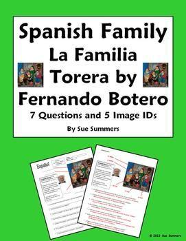 Spanische Familie & Künstlerin Botero's Bullfight Family Portrait 7 Questions