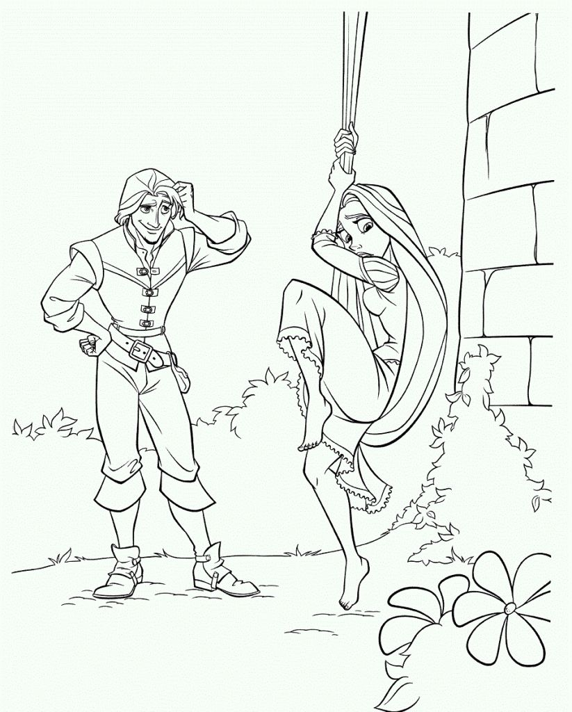 Rapunzel Neu Verfohnt Malvorlagen