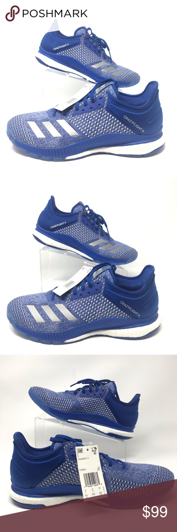 Adidas Crazyflight X Women S Volleyball Shoes Sz 9 5 Women S Volleyball Shoes Adidas Crazyflight X Adidas S Adidas Women Volleyball Shoes Shoes Sneakers Adidas