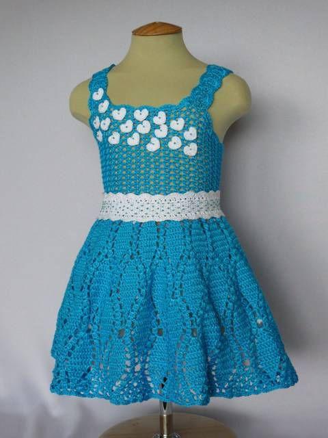 Crochet Patterns Baby Easy Crochet Baby Dress Beginner Level Free