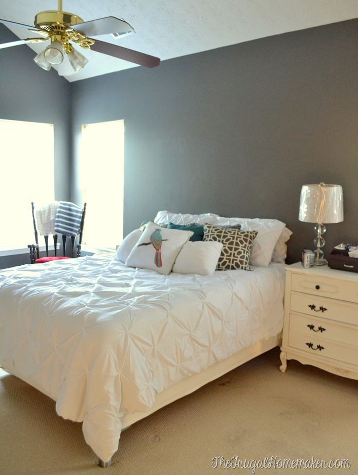 Behr Bedroom Paint Color Ideas Part - 18: Furniture Decor · New Paint In Master Bedroom - Magnet By Behr Marquee