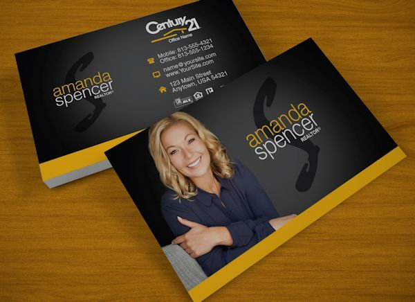 Realtor Business Cards | Business cards for real estate agents ...