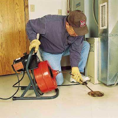 How To Clear Any Clogged Drain Clogged Drain Floor Drains Diy