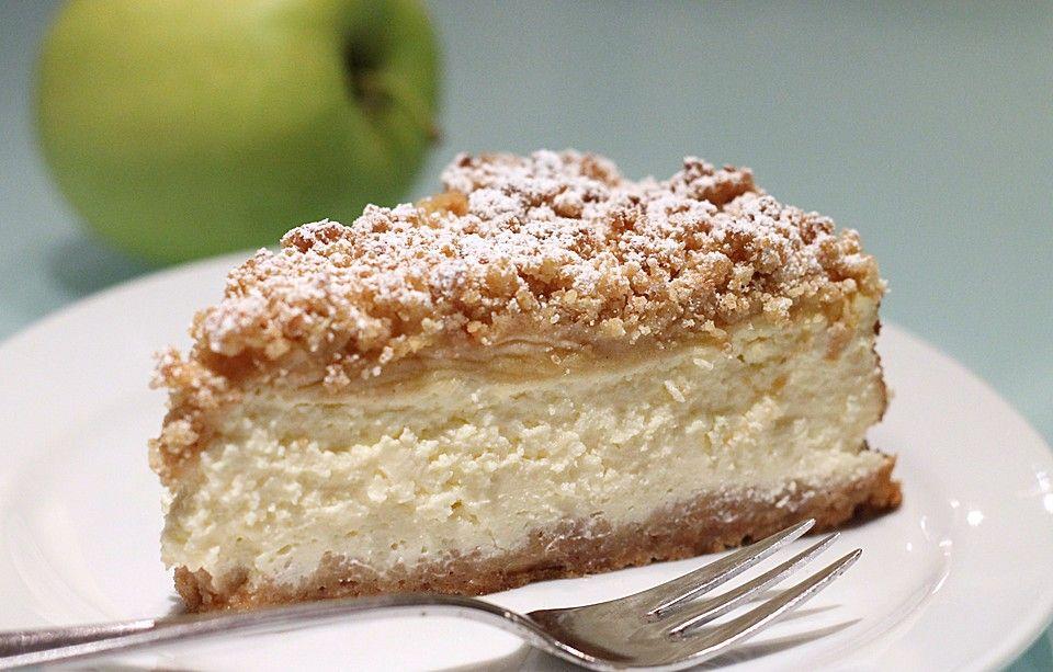 Apple-Crumble-Cheesecake | Recipe | Food | Rezepte, Kuchen ...