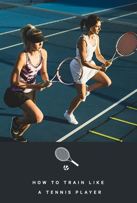 A 25 Minute Tennis Inspired Workout To Build Strength Stamina And Endurance Cose Interessanti Esercizi