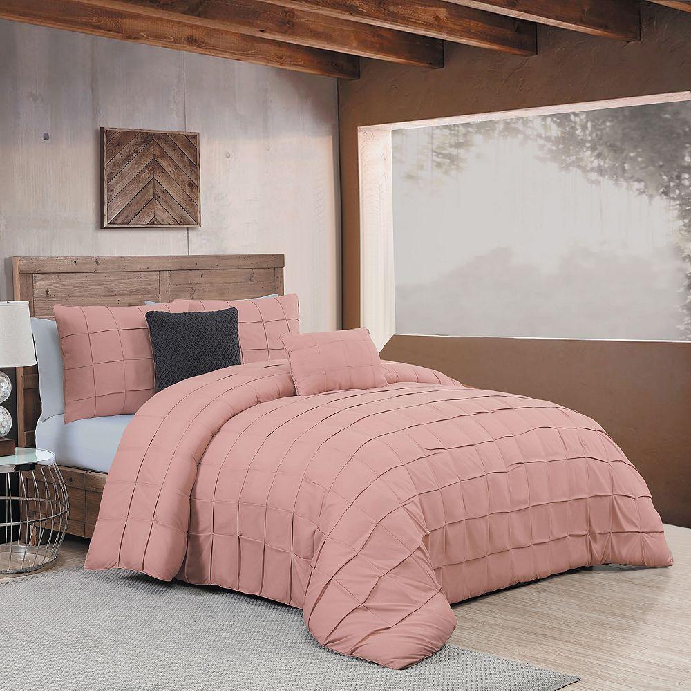 Avondale Manor Madison 5-piece Comforter Set, Pink