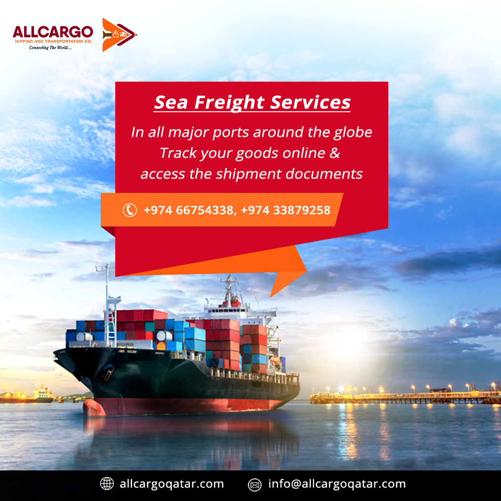 Sea freight services in all major ports around the globe