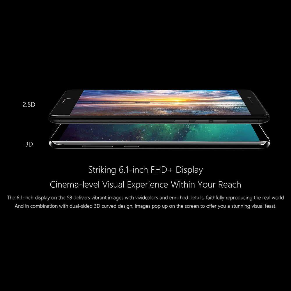 MEIIGOO S8 4G Smartphone 4GB RAM 64GB ROM 6 1 inches - US