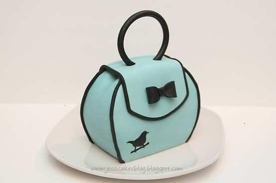 small cake purse