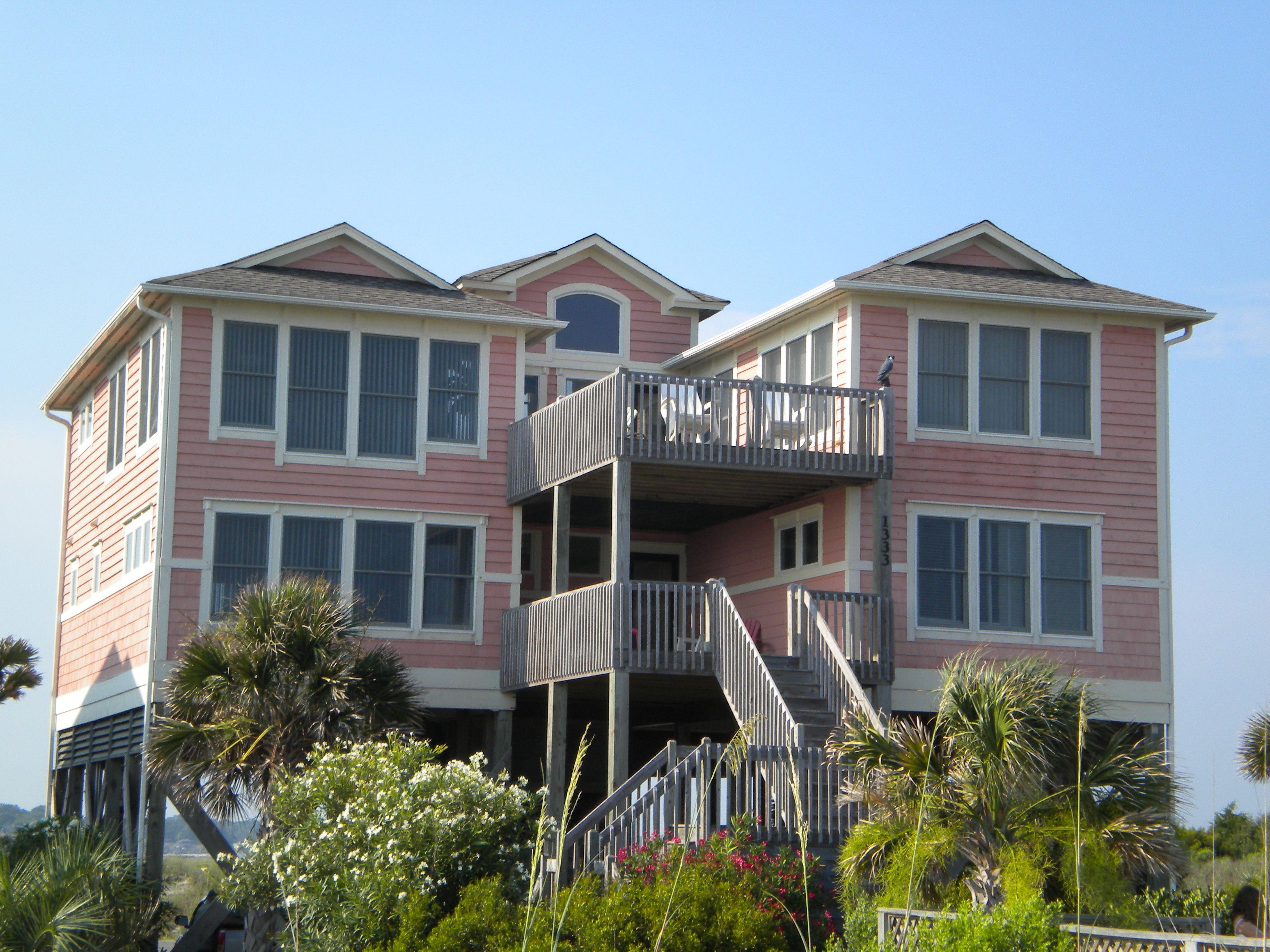 Flamingo Holden Beach Nc Holden Beach Holden Beach Nc House Styles