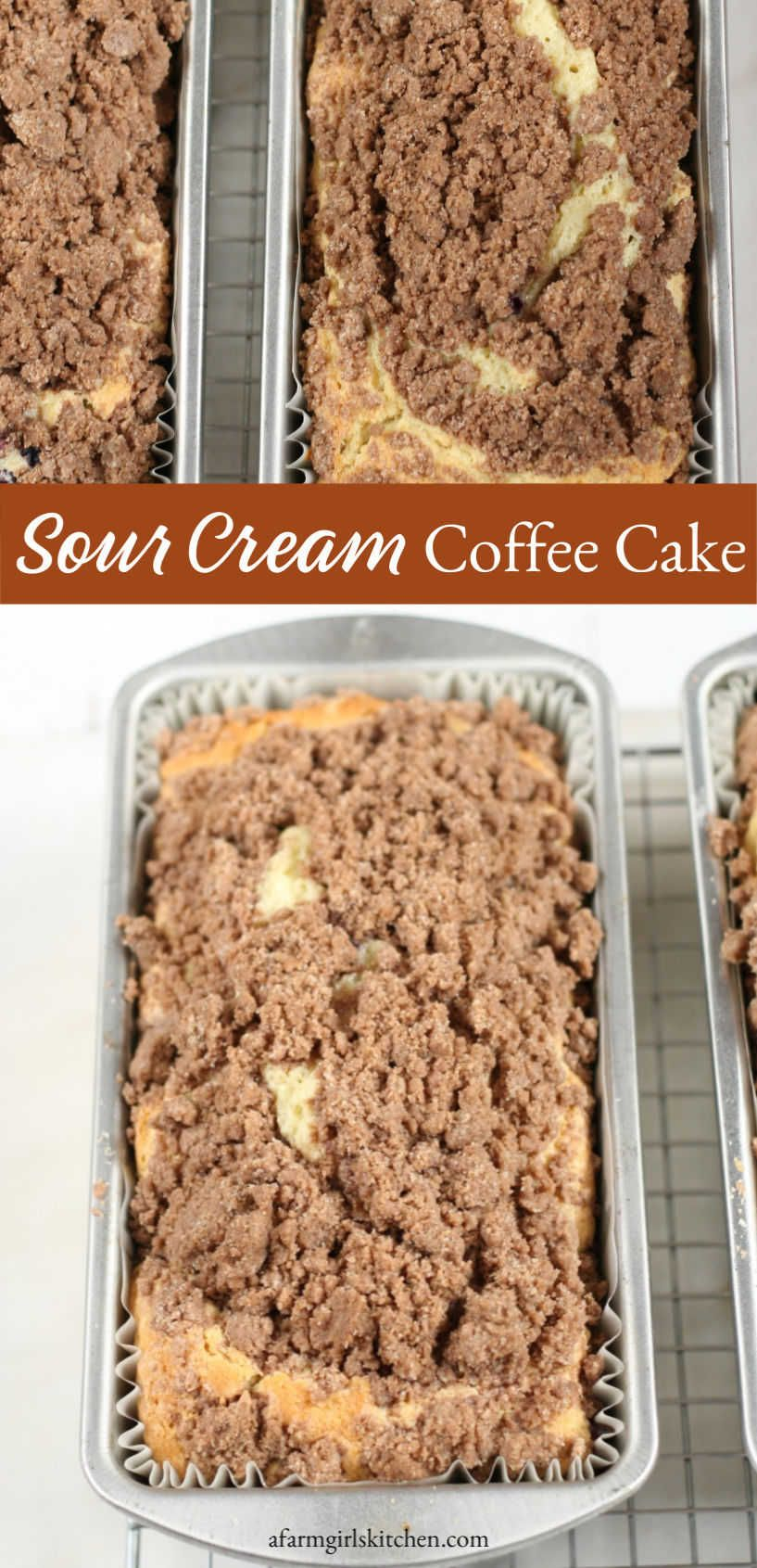This classic coffee cake with crumb topping is easy to