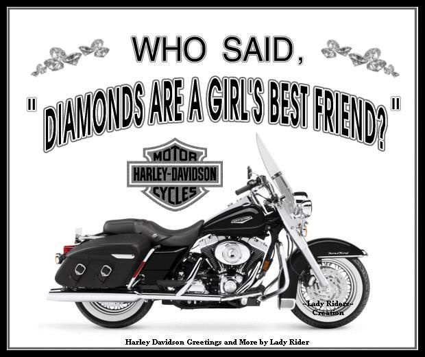 Men Love Women Harley Riders Quotes | Harley Davidson   4ever /
