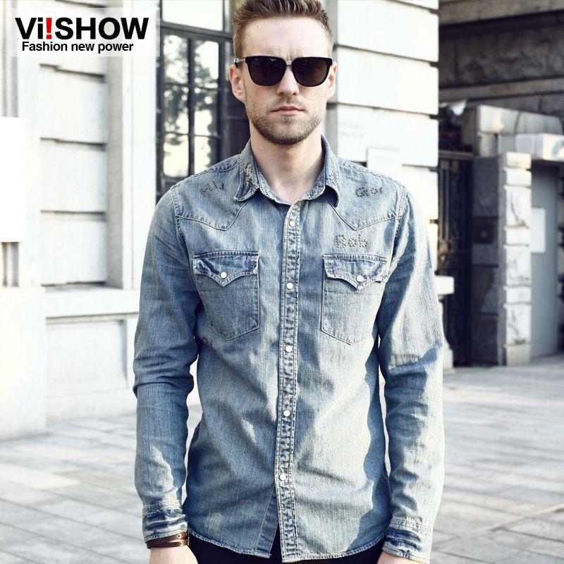 Denim Jeans Shirt For Men - Xtellar Jeans