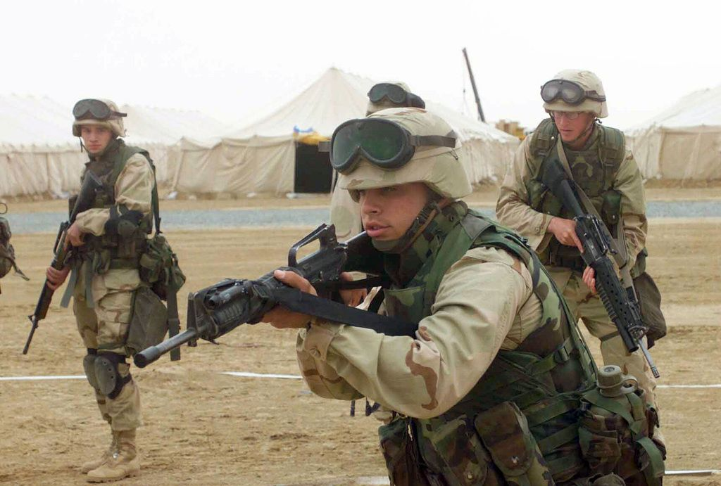 Download Image of US Marine Corps (USMC) Marines from 1ST