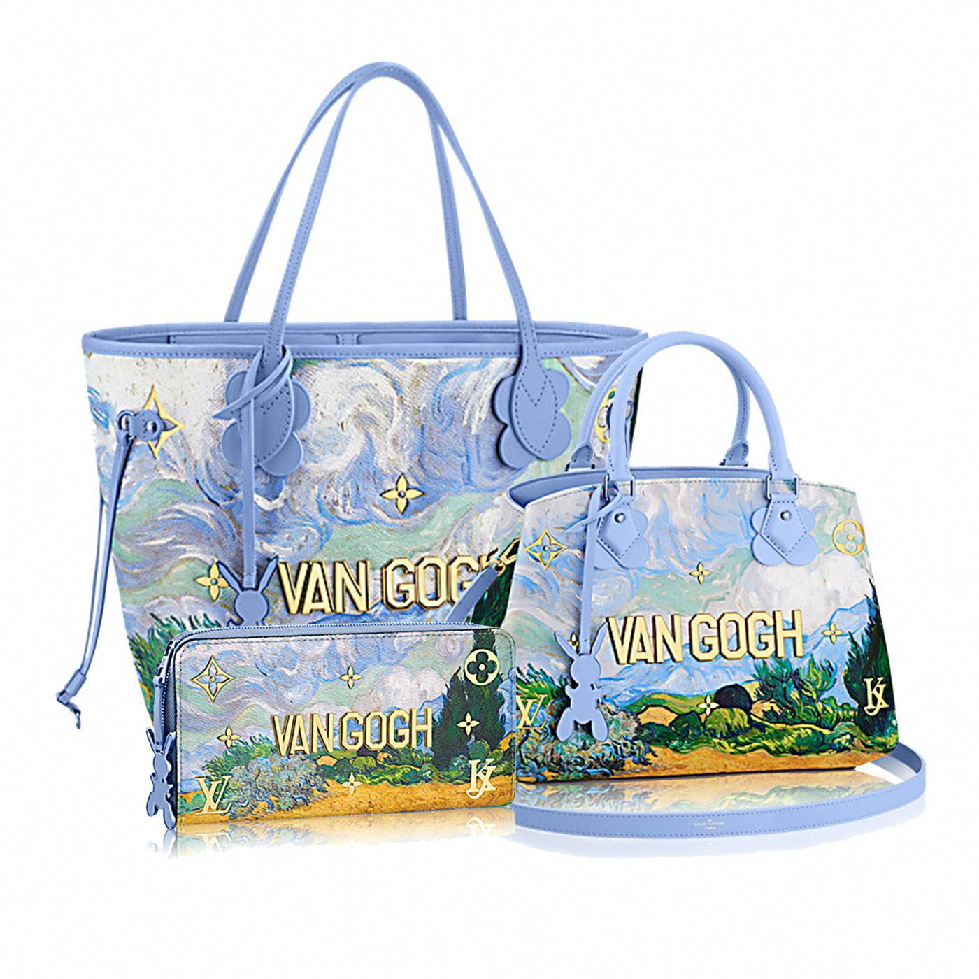 225a9c8870fd7 Louis Vuitton - Van Gogh -- SWOON! I m IN LOVE with this collection!   Louisvuittonhandbags
