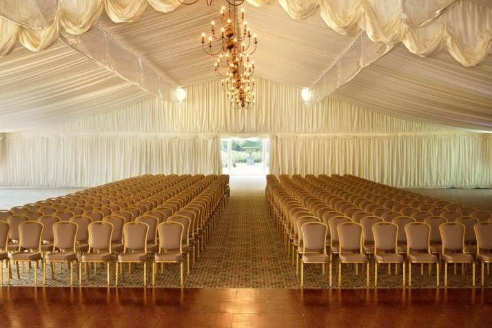 Perfect wedding marquee!