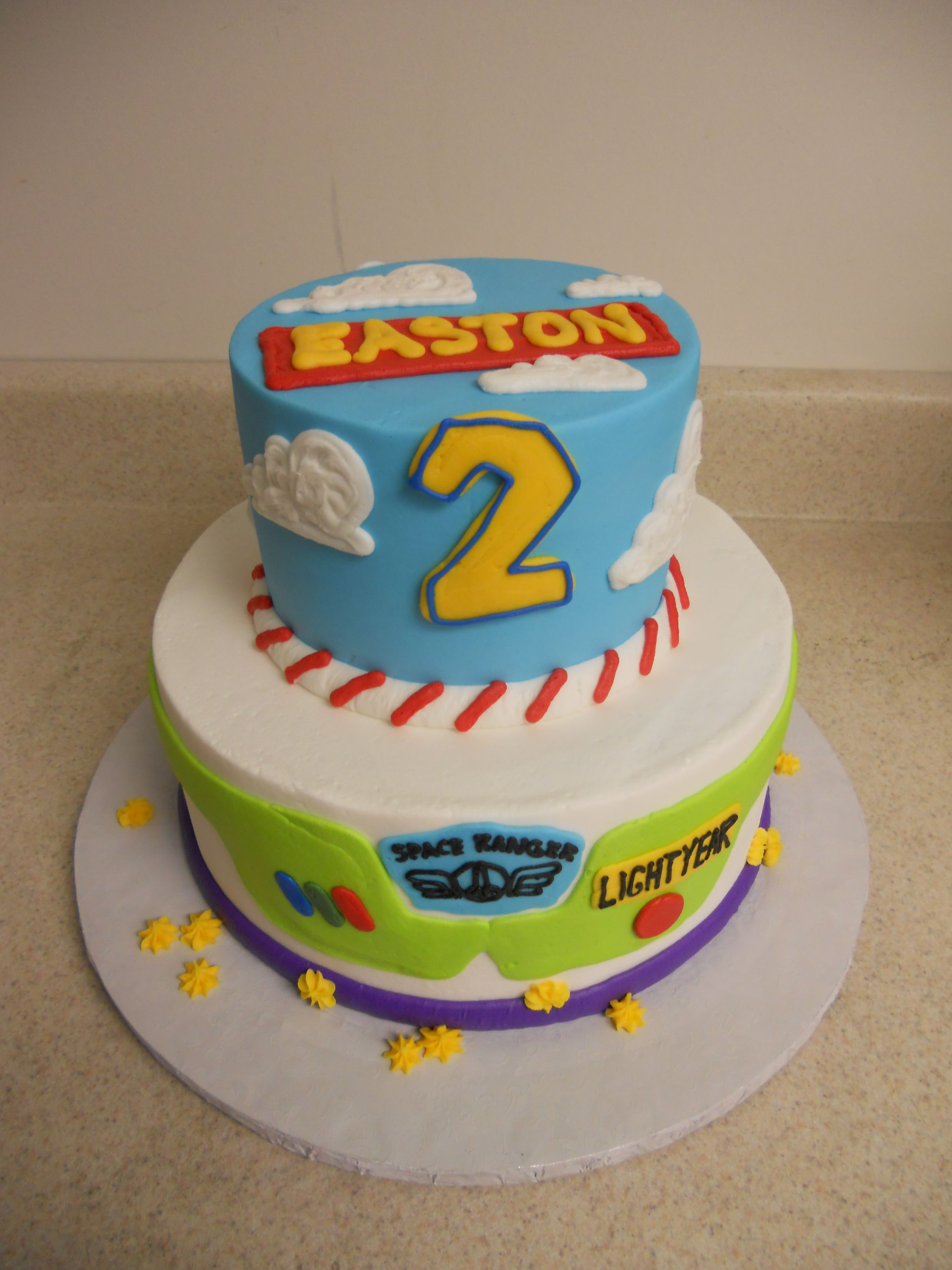 Created By Celebrations By Lori All Buttercream Toy Story