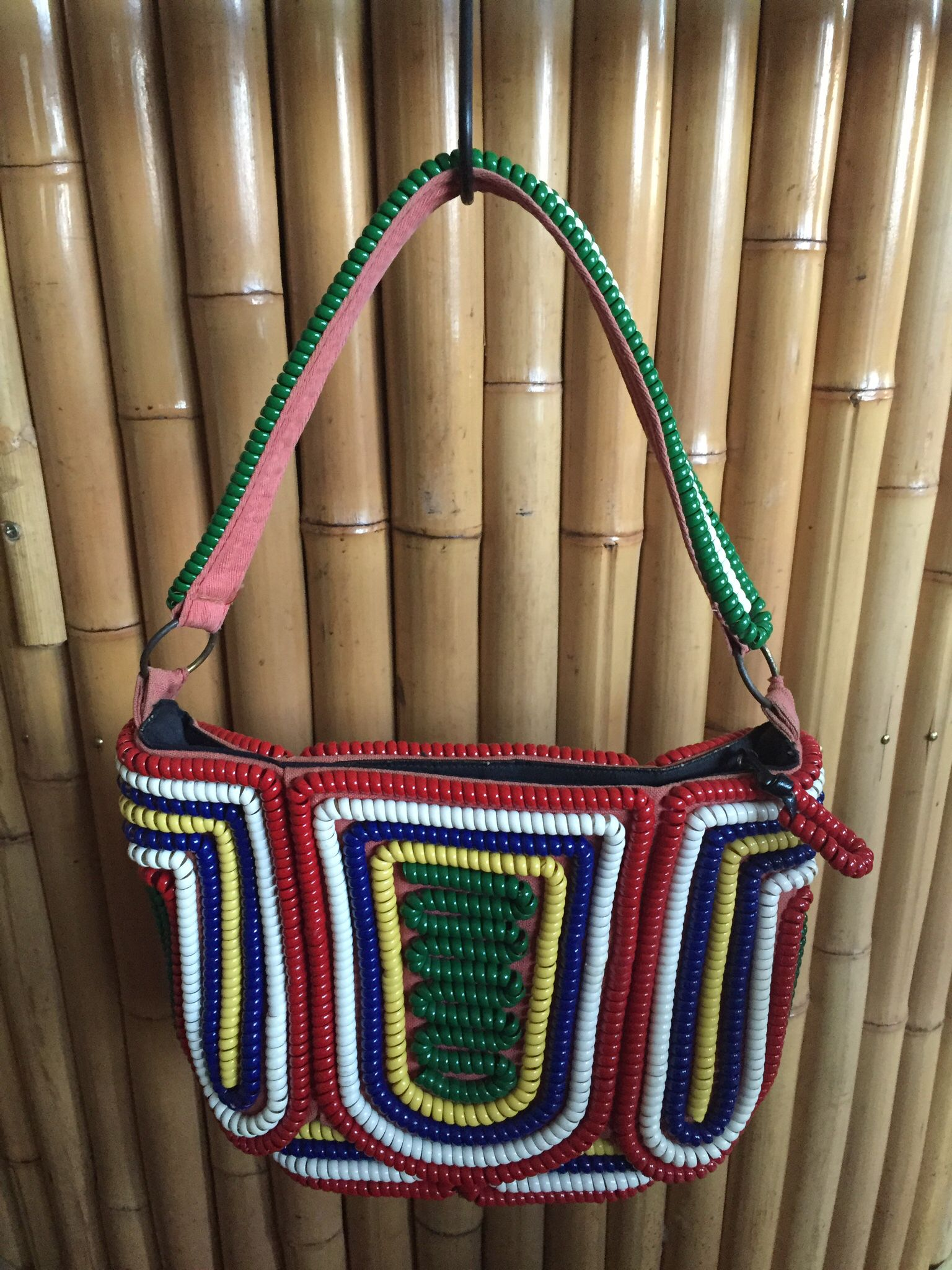 Telephone cord purse
