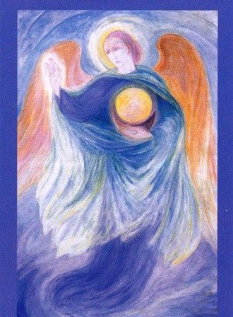 Amselhof Kunstdrucke margarita woloschina archangel gabriel