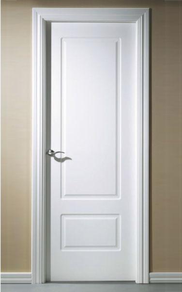 Puerta-2032-Lacada-en-blanco | DIYs | Pinterest | Blanco, Puertas ...