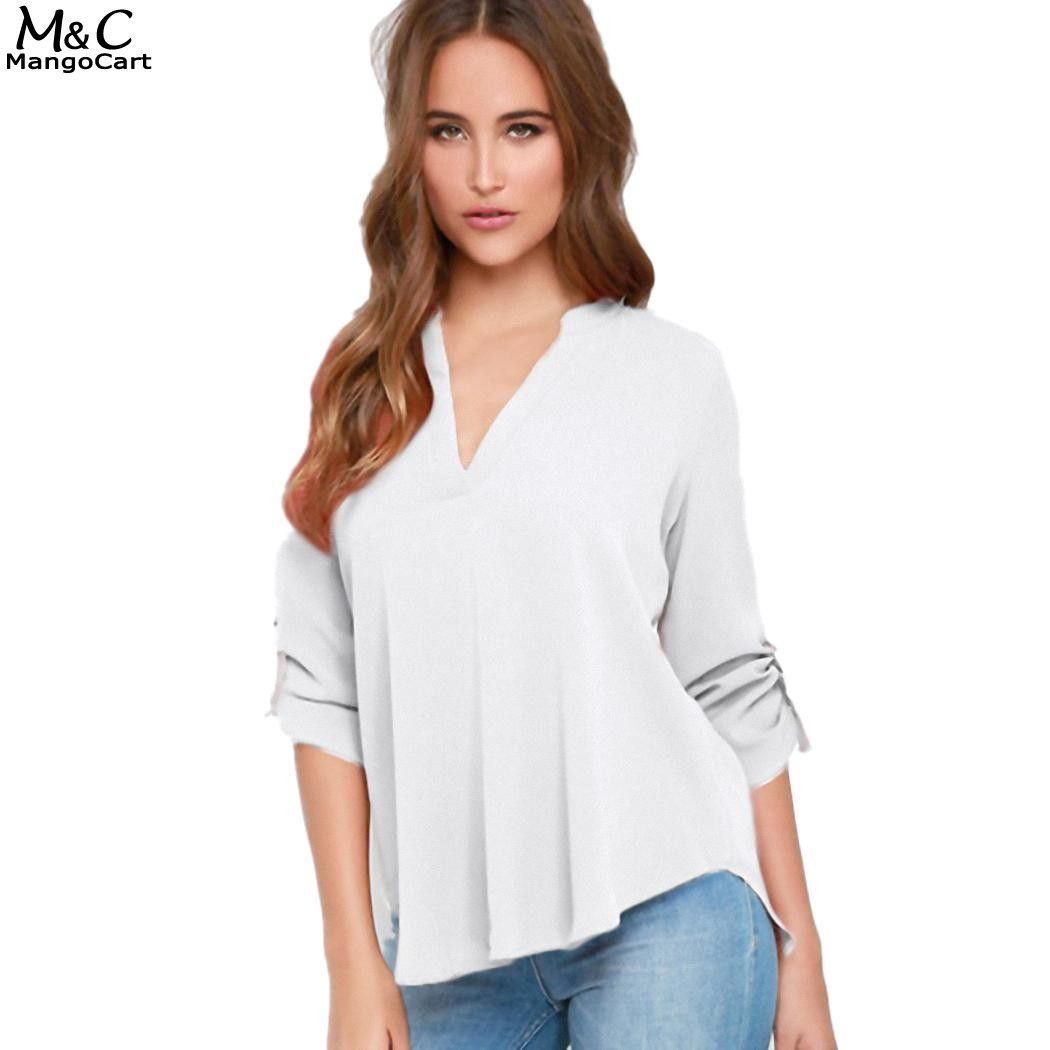 Preppy Style Ruffles V-neck Womens Chiffon Tops And Blouses Ladies Lantern Sleeve Spring Casual Long Sleeve Shirts Blusas Mujer Women's Clothing