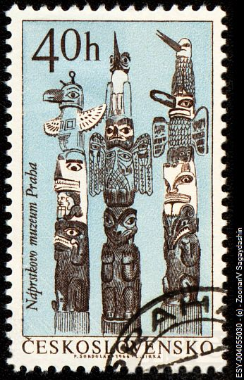 CZECHOSLOVAKIA - CIRCA 1966: stamp printed in Czechoslovakia