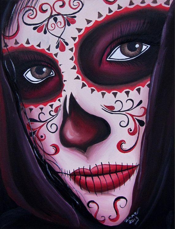 2d9ba3b339c25524a232273d7601e23e Dibujo Dia De Muertos Arte De Calavera De Alfenique Maquillaje De Muerto