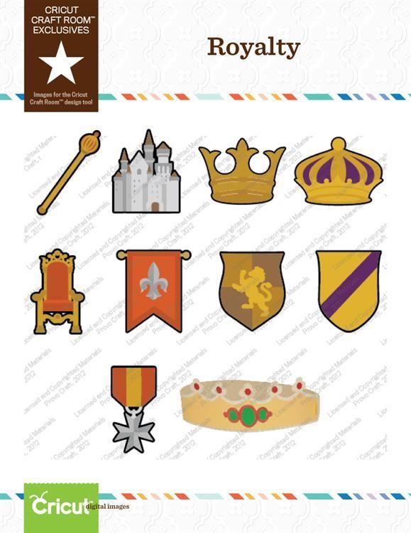 Cricut Craft Room™ Exclusives, Royalty