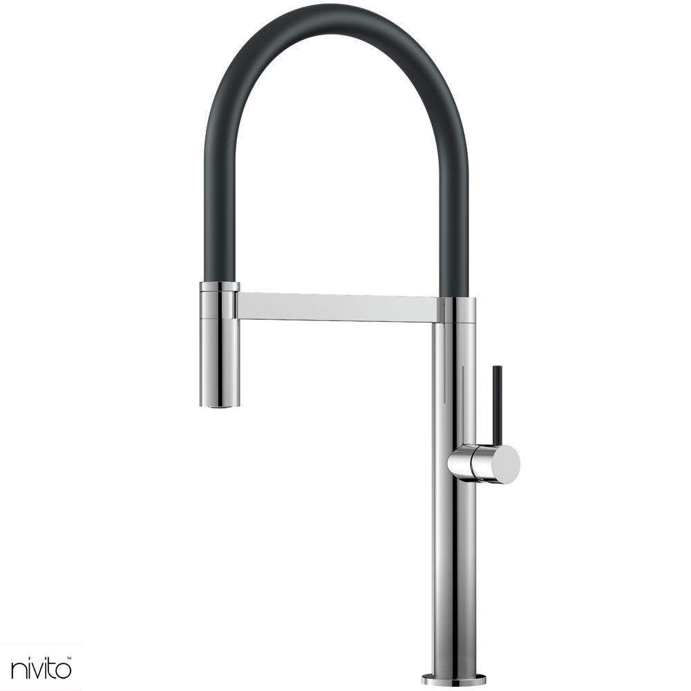 Nivito Shape Sh 210 Polished Steel Stainless Steel Nivito Tap Kitchentap Mixertap Polisheds In 2020 Quality Interior Design Home Interior Design Kitchen Faucet