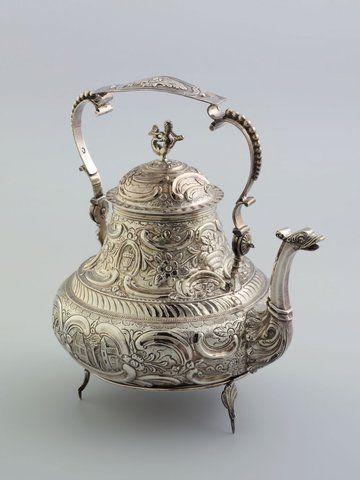 Hendrik Braam, Ysbrechtum - zilveren theepot.