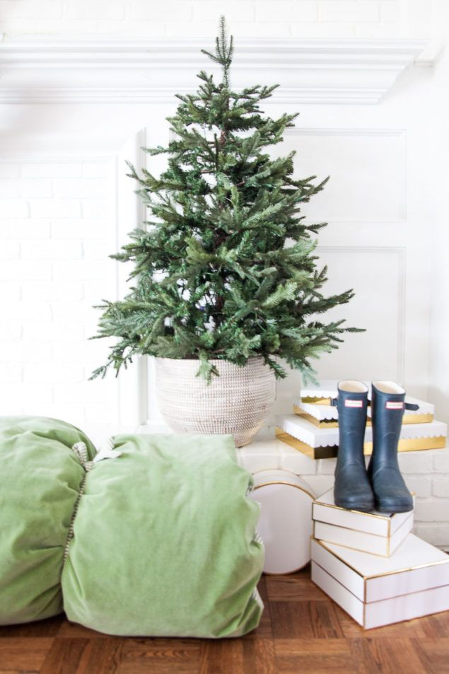 13 Small Christmas Trees for Any Budget and Space Small christmas - how to decorate a small christmas tree