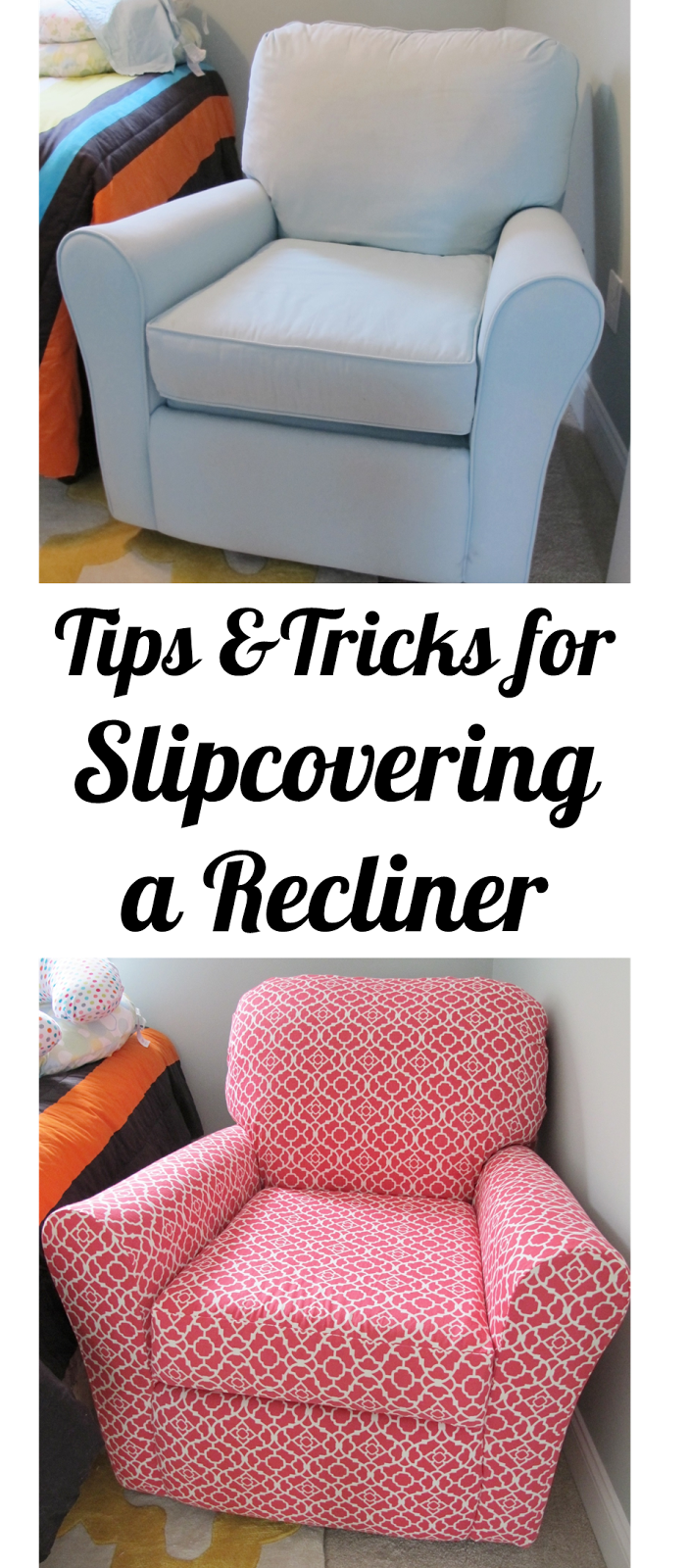 Awesome Post Full Of Tips And Tricks!!! BonnieProjects: Tips U0026 Tricks For  Slipcovering A Recliner