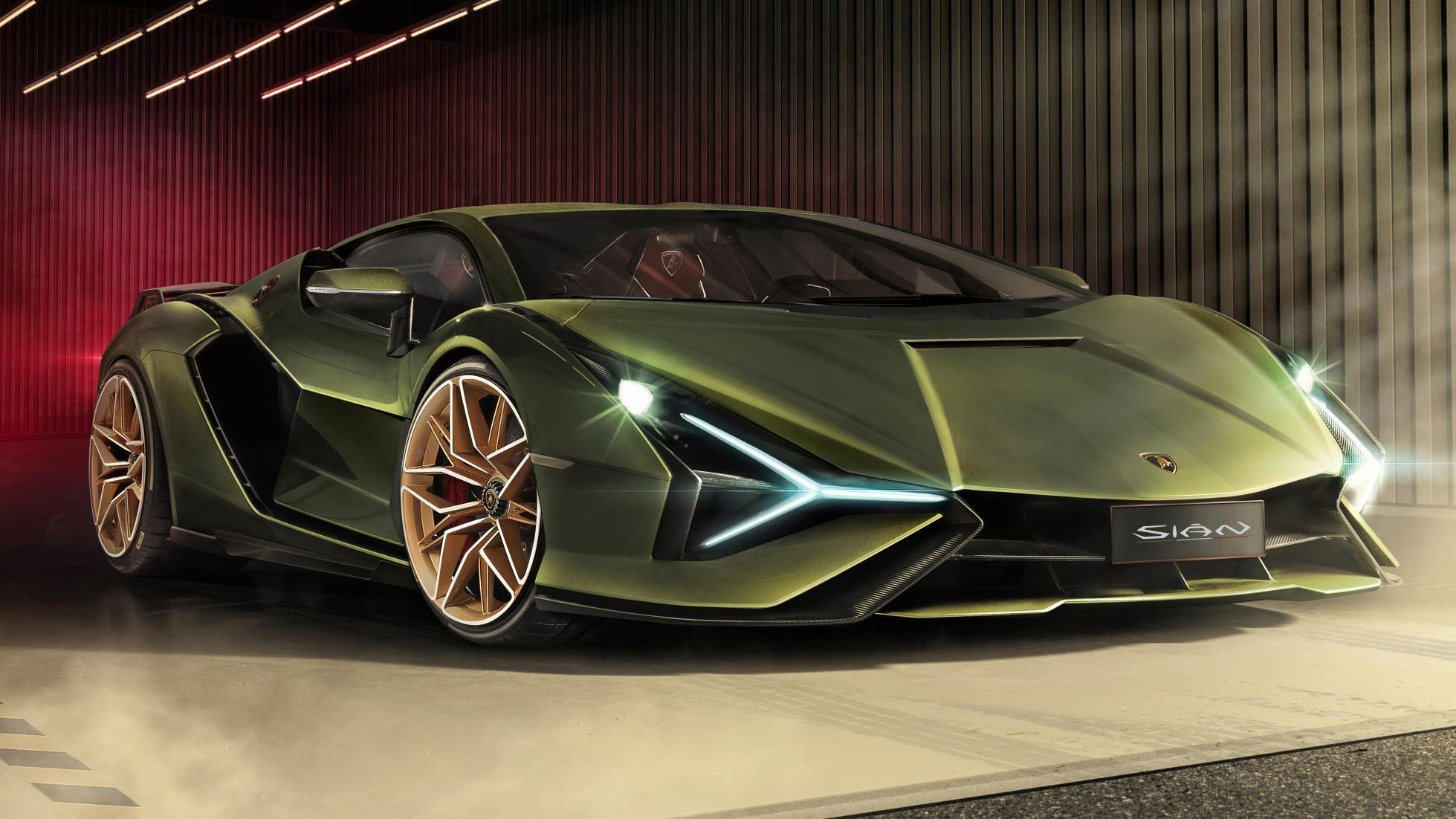 Lamborghini Sian Debuts As Brand S First Hybrid Production Car