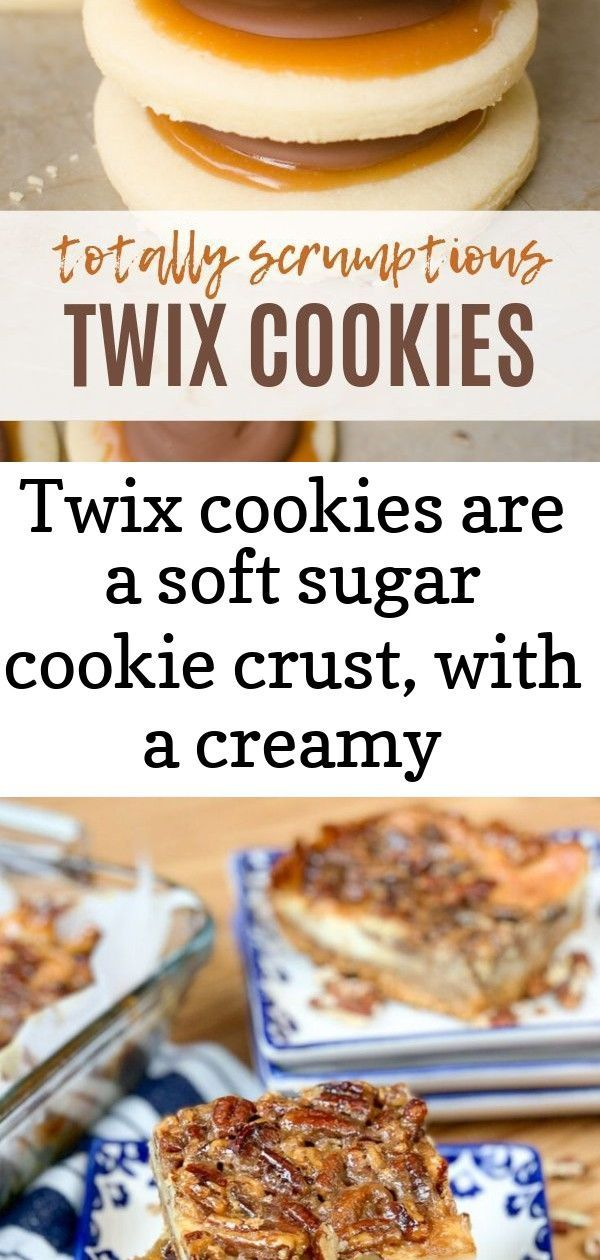 Twix cookies are a soft sugar cookie crust, with a creamy caramel on top which is topped with milk 2 #pecanpiecheesecakerecipe Twix Cookies are a soft sugar cookie crust, with a creamy caramel on top which is topped with milk chocolate. This delicious cookie explodes with Twix flavor and are super fun to make! Skip the candy bar and make your own! |Cooking with Karli| #twixcookies #cookies #homemade @#recipe #caramel Pecan Pie Cheesecake Bars #SummerDessertWeek Pecan Pie Cheesecake Bars are a cr #twixcookies
