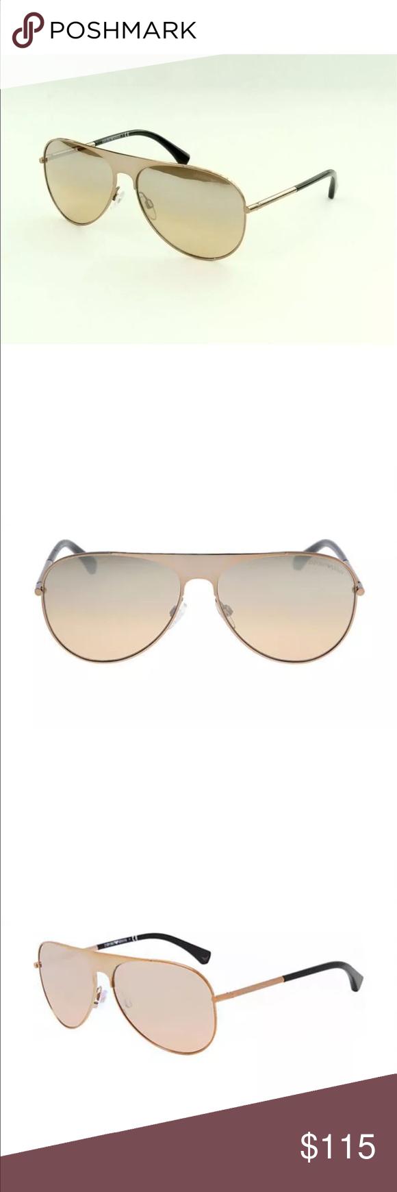 493a38eb0ff EMPORIO ARMANI EA 2003 301195 Gold Sunglasses STYLE  EMPORIO ARMANI EA 2003  301195 COLOR