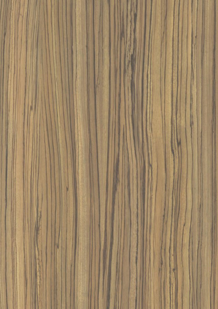 Decor Polyrey Laminate Wood Z008 Zebrano Naturel Bois Brut