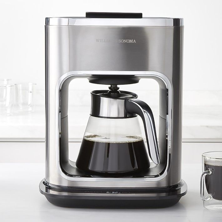 signature touch 12cup glass coffee maker designed by phil rose - Industrial Coffee Maker