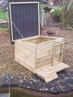 Duck Coop Ideas | This is a duck house but could be altered to a ...