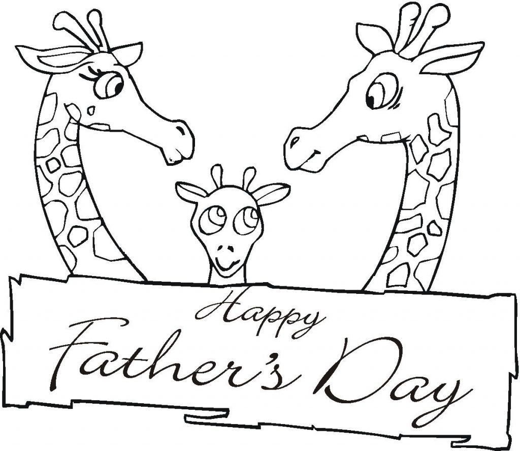 Fathers Day Coloring Pages | Father