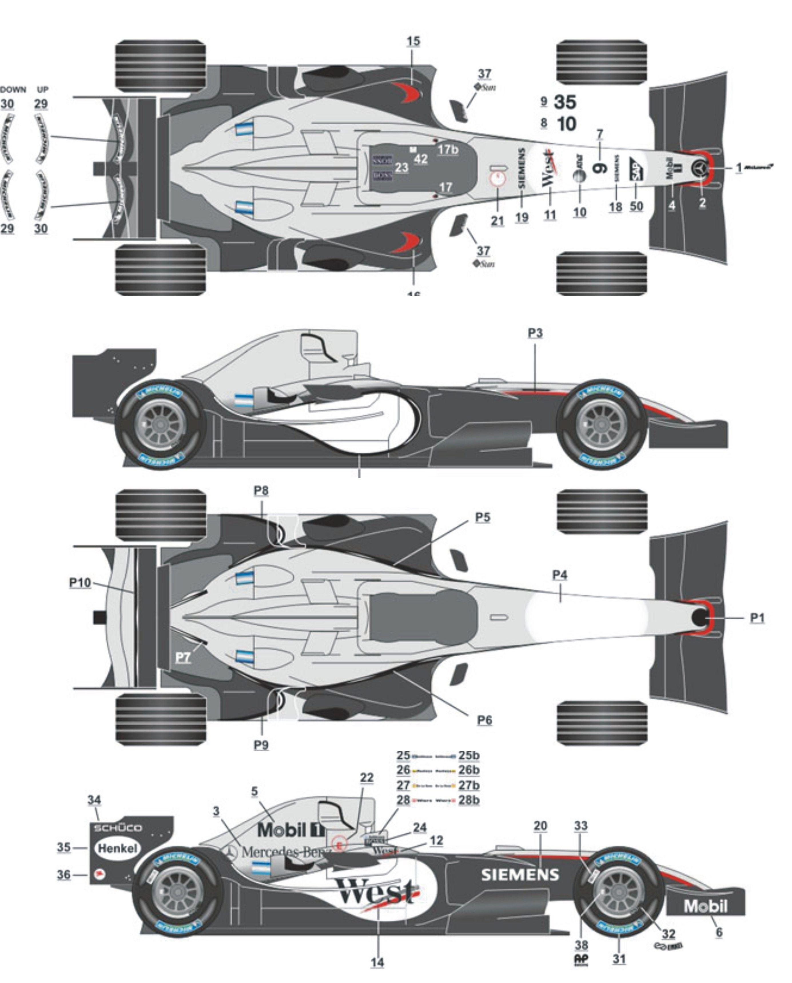 McLaren MP 4-20 | F-1 Blueprint | Pinterest | F1, Mclaren f1 and Cars