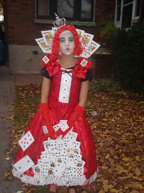 The Queen Of Hearts Red Queen Costume Halloween Queen Queen Of Hearts Costume