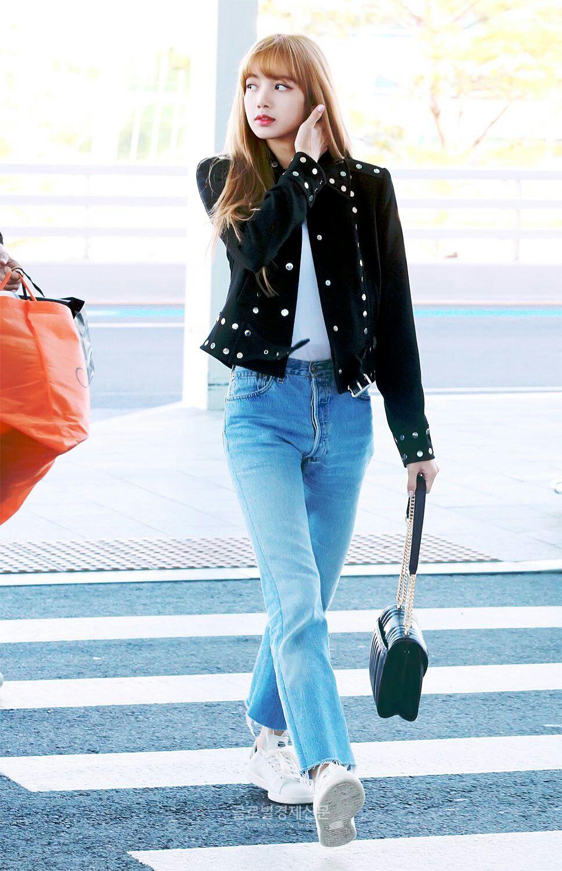 Imagini pentru lisa blackpink in jeans