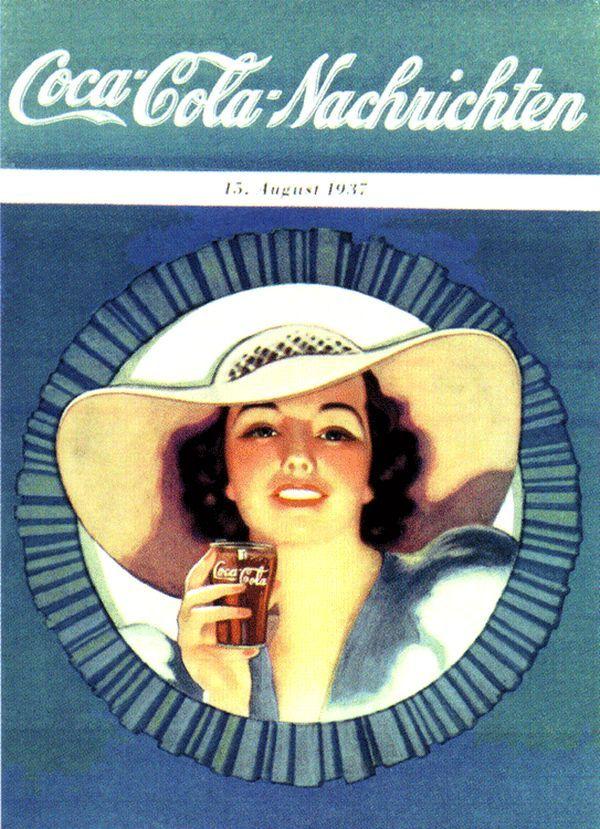 Vintage Coca-Cola Girl Ads