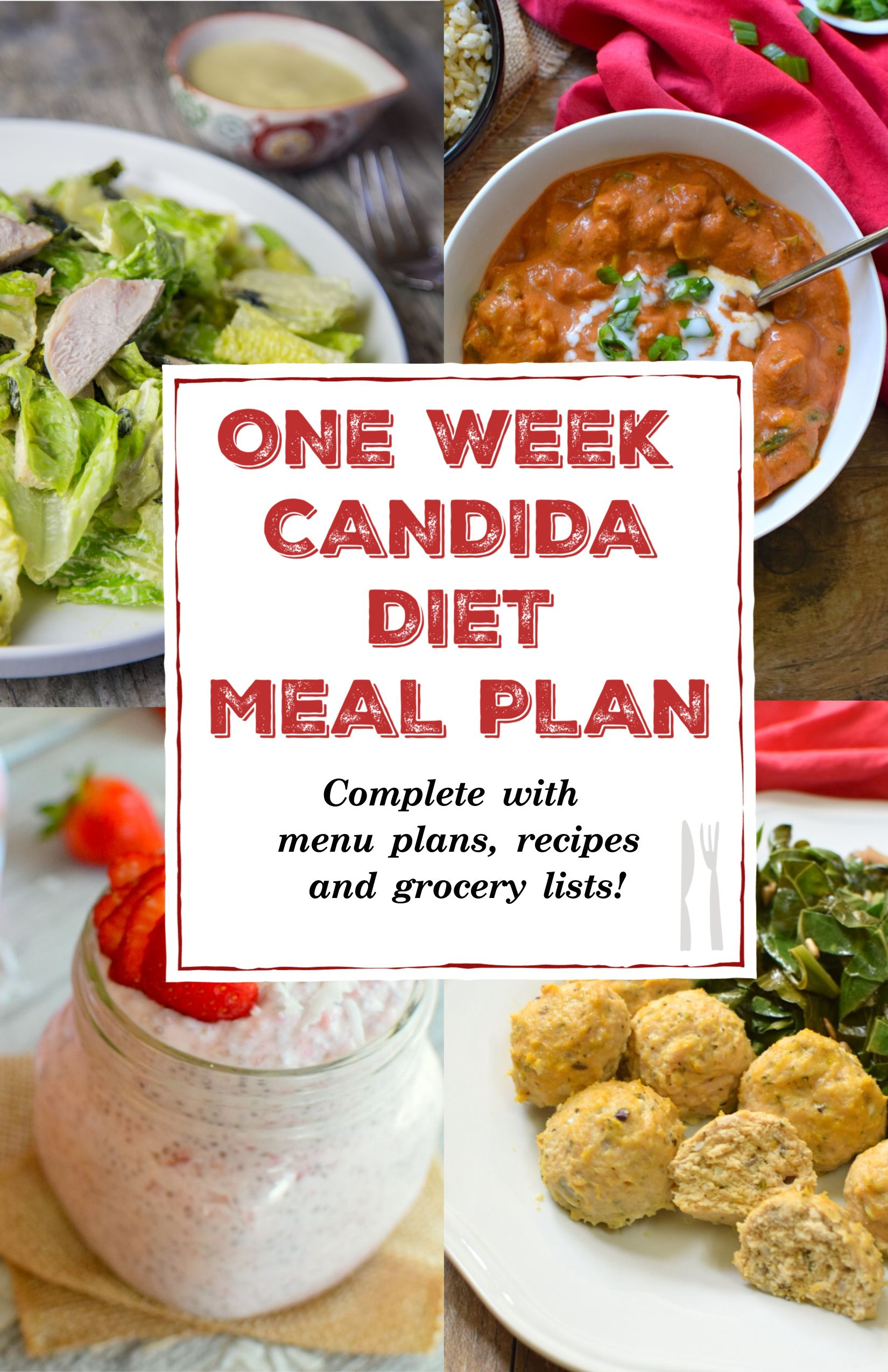 one week candida diet