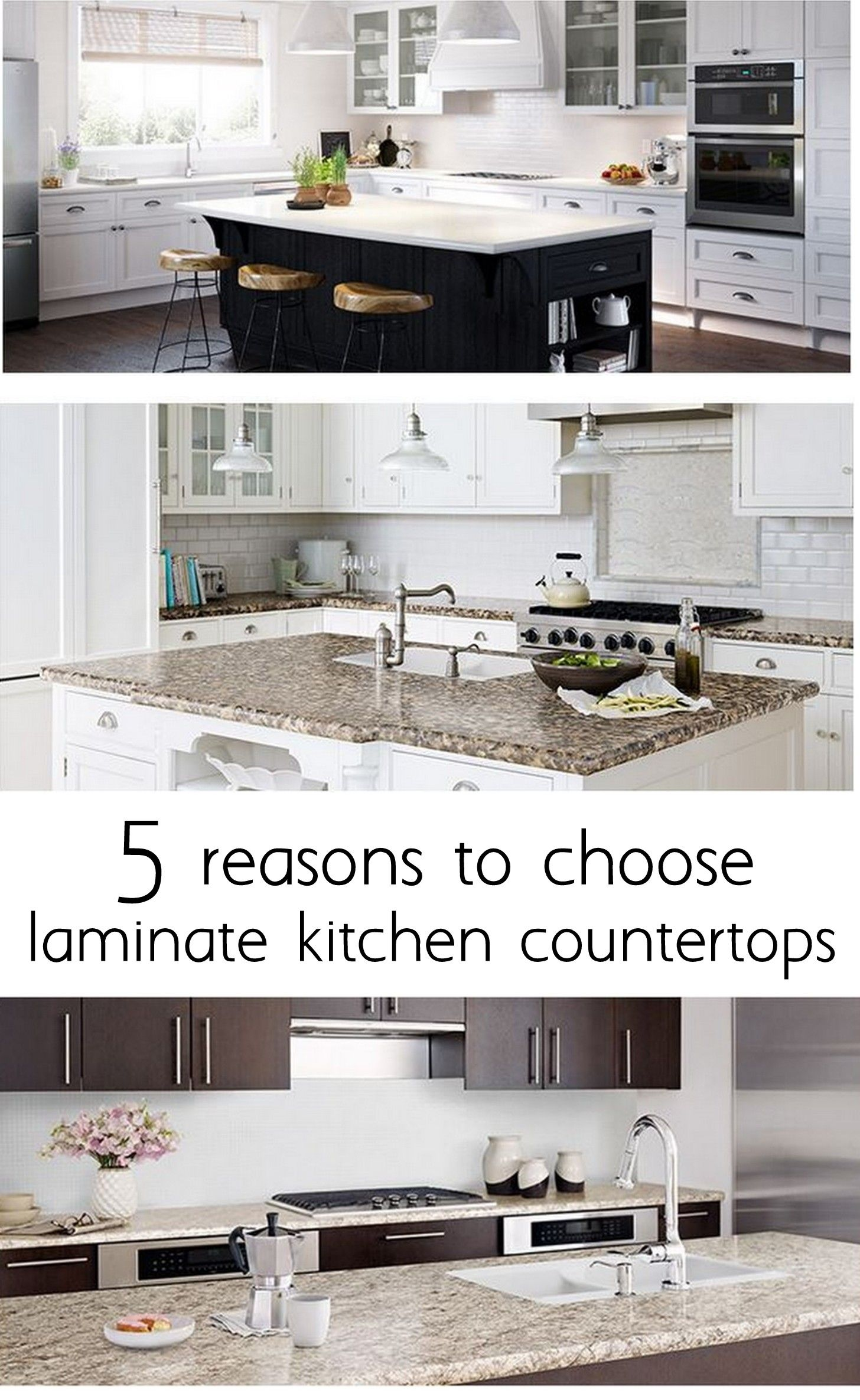 reasons to choose laminate kitchen countertops i like the rounded edges and tile backsplash. Black Bedroom Furniture Sets. Home Design Ideas